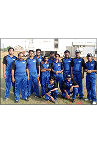 Sports initiative : Cricket Team Members of SKM Metal Processor participated in a friendly match with Tata Steel Ltd and SKM Mumbai teams at Mumbai Police Gymkhana Ground