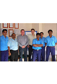 Executives from Tata Steel Chorus - UK on business expansion drive visits SKM Metal Processors unit